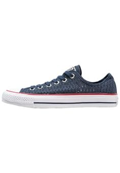 Converse - CHUCK TAYLOR ALL STAR CROCHET - Trainers - navy/white/black