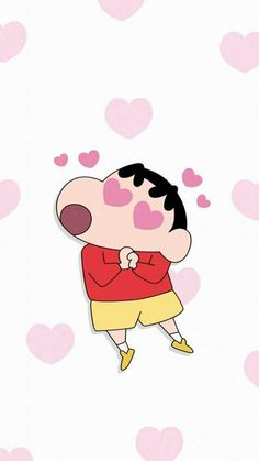 There is love in the eyes of Crayon Shinchan,do you like it? I Miss You Wallpaper, Sinchan Wallpaper, Cartoon Wallpaper Iphone, Cute Cartoon Wallpapers, Cute Wallpaper Backgrounds, Phone Wallpapers, Sinchan Cartoon, Cartoon Caracters, Totoro
