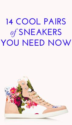 14 Chic Sneakers for Everything But Working Out e85819e58580