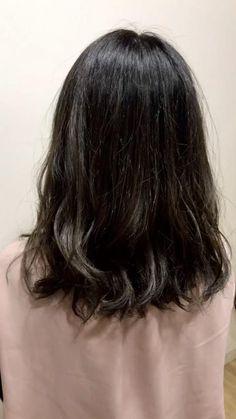 6トーンの髪色です Medium Bob Hairstyles, Brunette Hair, Hair Color, Long Hair Styles, Beauty, Boy Hair, Hair, Make Up, Haircolor