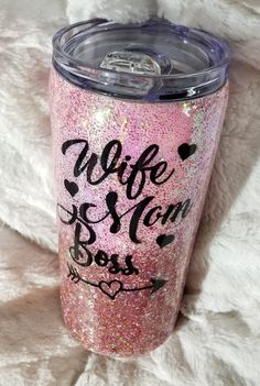 Wine Tumblers Insulated With Lids Wine Tumbler With Lid Stainless Steel Mom Tumbler, Tumbler Cups, Girls Tumbler, Coffee Tumbler, Vinyl Tumblers, Custom Tumblers, Glitter Cups, Glitter Tumblers, Cup Crafts