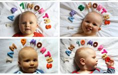 Track your baby's first year with these 16 creative photo ideas from The Stir.