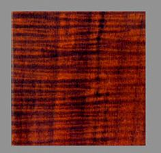 These are actual photographs of Antique Wood Stain applied to samples of highly figured hard curly maple - Antiqued Maple