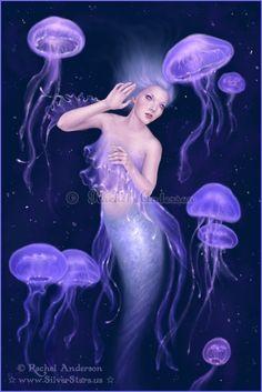 Jellyfish Mermaid by Rachel Anderson