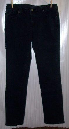 FADED GLORY Ladies Size 10 Straight Leg Blue Jeans #FadedGlory #StraightLeg