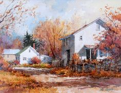 ian ramsey - Google Search Watercolor Pictures, Watercolor Artists, Watercolor Landscape, Landscape Paintings, Watercolor Paintings, Watercolors, Pictures To Paint, Art Pictures, Photos