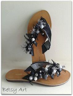 Flip flopswomen sandalsGreek leather sandals by betsyarts on Etsy, €48.00