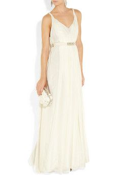 I like this Matthew Williamson as a potential for one of my post-wedding wedding dresses.