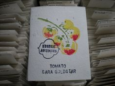"""Sara Goldstar"" Tomato Seeds"