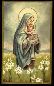 Image result for jesus and mary the passion