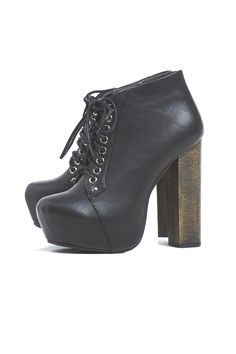 Chunky Heel Lace Up Boot for £39.99