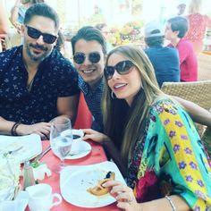 Filho de 23 anos da atriz publicou foto do café da manhã do dia seguinte à festa