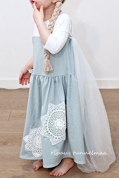 ripaus tunnelmaa: frozen Elsa-asu