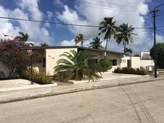 $490k - 8OCT17 - was $537k. Shumanstraat 5 - This home is built on 1129 m2 of land in the most elegant area of Oranjestad, the capital city of Aruba. The estate consists of 3 bedrooms, 3 bathrooms, a spacious living and dining room with high ceiling, a kitchen with pantry and a laundry area. The kitchen has an open bar that connects with the big tropical patio. There is also a maid quarter on premises.