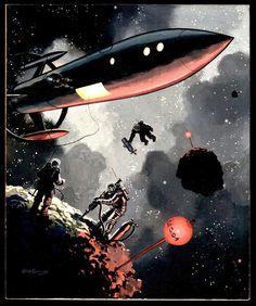 Jack Coggins / 70s Sci-Fi Art