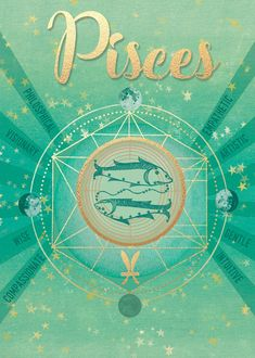 Pisces ~ compassionate, artistic, and intuitive Astrology Pisces, Astrology Chart, Pisces Zodiac, Horoscope, Leo Zodiac Facts, Zodiac Art, Zodiac Signs, Teen Quotes, Quotes Quotes