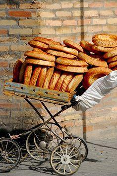 Uzbekistan street food