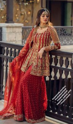 Best Trendy Outfits Part 12 Wedding Dresses For Girls, Pakistani Wedding Dresses, Indian Wedding Outfits, Pakistani Outfits, Indian Dresses, Girls Dresses, Bridal Dress Design, Indian Fashion, Trendy Outfits