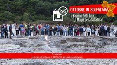 Ottobre in #Solfatara: tutto pronto per l'inizio! - Prima visita serale il 10 Ottobre alle 20,30: http://www.vulcanosolfatara.it/it/news-eventi/blog-vulcano-solfatara-pozzuoli/290-ottobre-in-solfatara-tutto-pronto-per-l-inizio