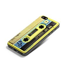Cushi iPhone 5 Pad Cassette Ylw now featured on Fab.id America