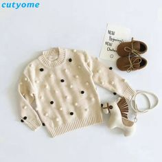 The consequences of failing to Original Price US $19.42 Sale Price US $14.76 Baby Pullover Sweater For Kids Girls Boys Long Sleeve Pom Pom Cardigan Warm Clothing For Children Christmas Sweaters Outerwear when launching your business #sweaters-cardigans