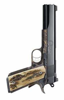 Republic Forge announces the addition of blued and color-cased finishes to its line of 1911 pistols. Weapons Guns, Airsoft Guns, Guns And Ammo, Handgun, Firearms, Revolvers, Shooting Equipment, 1911 Pistol, Concept Weapons
