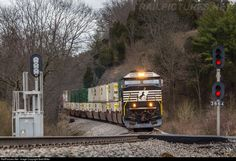 RailPictures.Net Photo: NS 7002 Norfolk Southern EMD SD60E at Marion, Virginia by Brett Miller