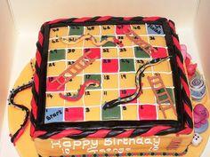 Snake and Ladder Cake
