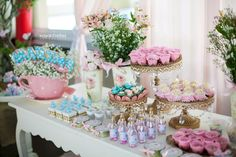 ideas-de-como-decorar-mesa-de-postres-para-fiesta-de-xv-años | Curso de organizacion de hogar aprenda a ser organizado en poco tiempo