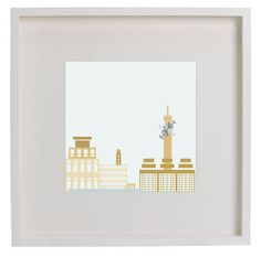 GibsonGraphics / Birmingham BT Tower / Framed Art Print by GibsonGraphicsUK on Etsy