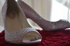 Bling shoes in Cinderella gazebo