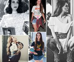 More lovely Lana del Rey Style...