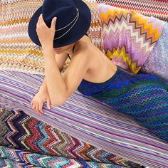 MAD FOR MISSONI. Introducing vintage Missoni pieces from @nastygal to get your wardrobe in the groove.