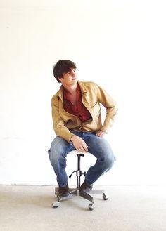 Me, Kustan Adam My Works, Fashion Photo, Farmer, Hipster, Leather Jacket, Music, Jackets, Style, Studded Leather Jacket