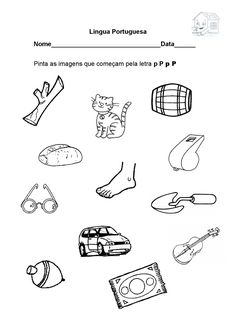 letra p consoante p