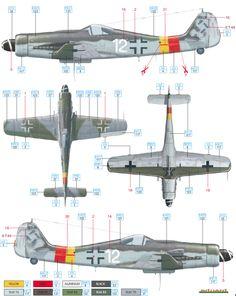 Fw 190D-9 JG 301 Color Profile