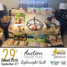 Auction Items, Rescue Dogs, Life Is Good, Picnic, This Is Us, Events, Quilts, Website, Quilt