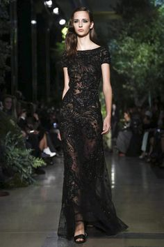 Elie Saab Couture Spring Summer 2015 Paris - NOWFASHION