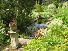 Chesters Walled Garden - the Roman Garden