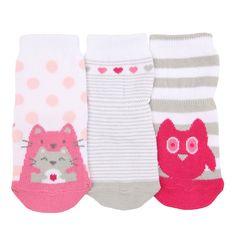 Love Friends Baby Socks, 3 Pack   Robeez