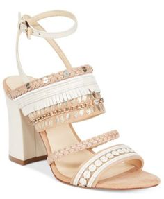 Nine West Baebee Block-Heel Sandals