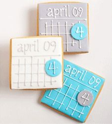 save the date cookie favors