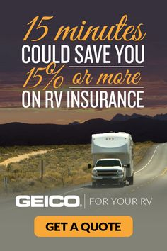 Where will you take your touring machine? Before your next journey, know this: 15 minutes could save you or more on RV insurance. Find out how much you could save on RV insurance with GEICO. Get the correct camping equipment for your camping needs Employee Insurance, Low Car Insurance, Insurance Travel, Insurance Business, Commercial Insurance, Renters Insurance, Insurance Marketing, Insurance Quotes, Life Insurance