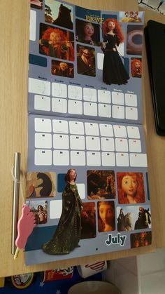Bril disney pixar calendar