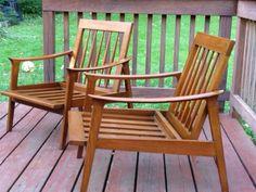 Baltimore: Danish Modern Lounge Chair Pair $275 - http://furnishlyst.com/listings/661167