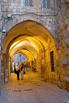 Holy Land.... Arab quarter, old city of Jerusalem !!!