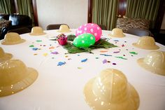 Dinosaur Themed Party (Girl) tablescape