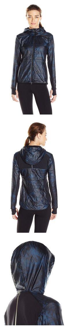 $109.99 - New Balance Women's Heat Hybrid Jacket, Galaxy Floral Print, Small Galaxy Floral Print #newbalance