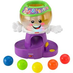 Fisher-Price Laugh & Learn Count & Color Gumball Toy