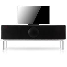 Geneva Sound System Model XXL / Home Theater Console in Black
